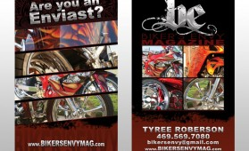 Biker's Envy Business Cards