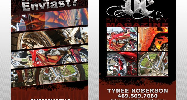 Biker's Envy Business Cards