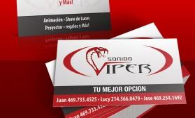 DJViper Business Cards