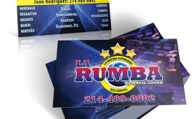 LaRumba Business Cards