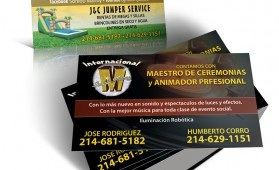 Sonido Manny Business Cards
